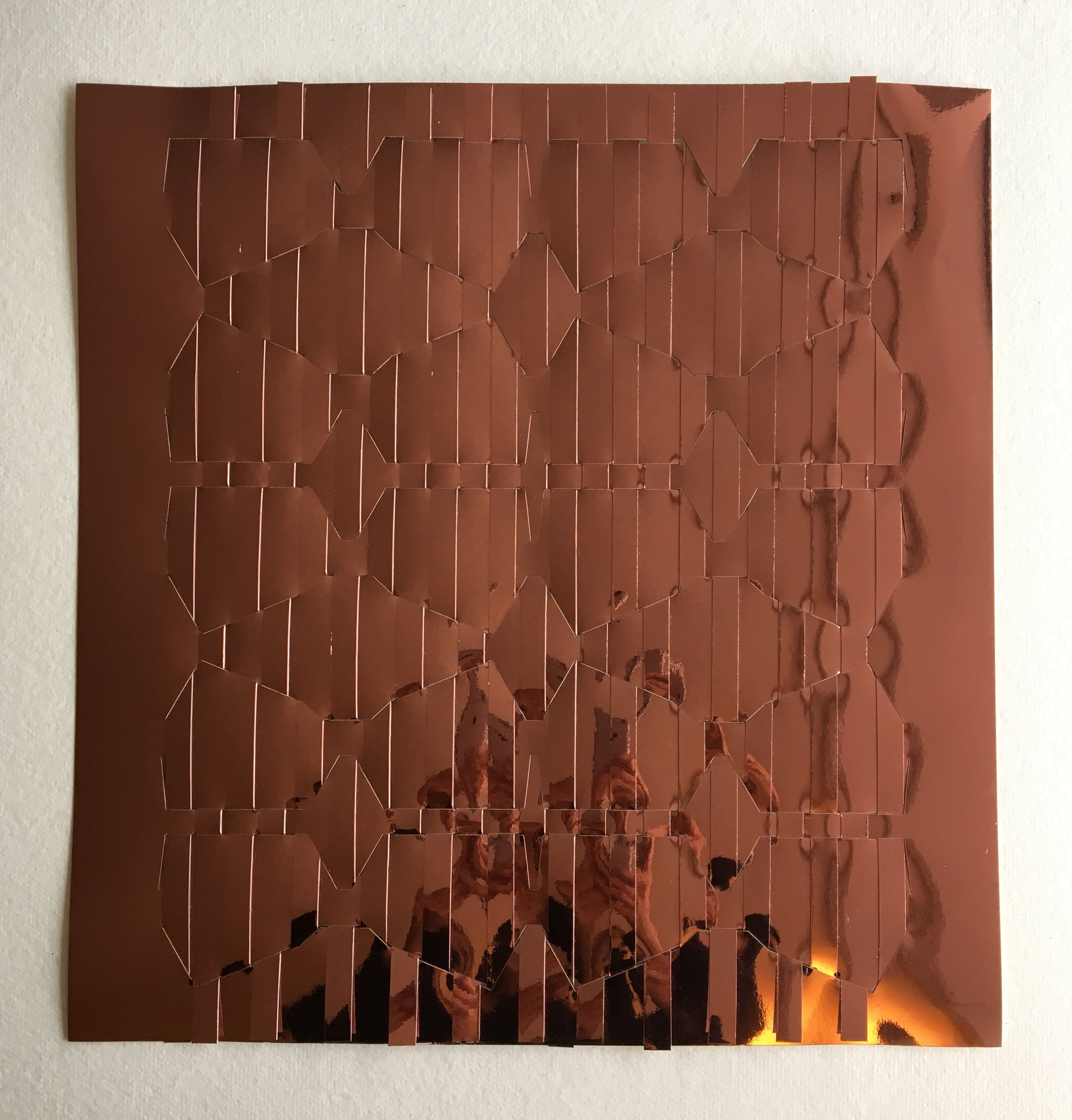 Untitled - weave copper